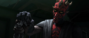 Darth Maul handing