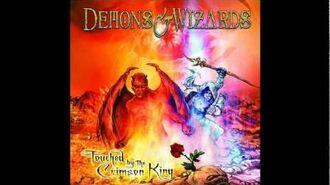 Demons & Wizards - Crimson King