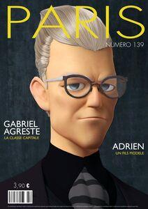 Gabriel Agreste Paris magazine