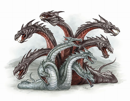 hydra mythical creature wiki