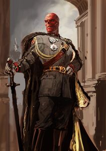 Red Skull - Ryan Meinerding