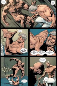 Bane and Thomas Wayne (Flashpoint)