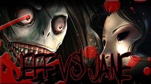 "Go To Sleep - ""Jeff the Killer vs Jane the Killer"""