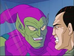 Green Goblin and Norman Osborn