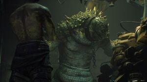 Killer Croc in Arkham Knight