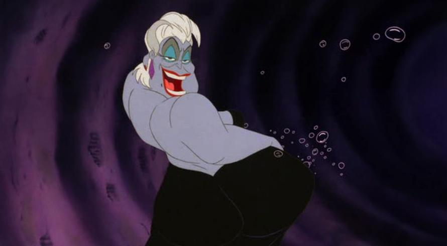 Image result for the little mermaid 1989 poor unfortunate souls