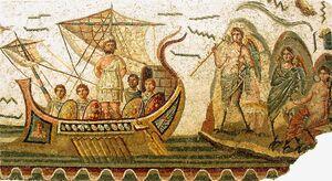 Sirens in Roman art