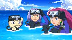 Team Rocket Scuba-Gears