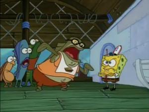 Bubble Bass and Spongebob Second Showdown