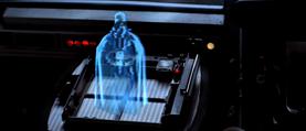 Darth Vader hologram