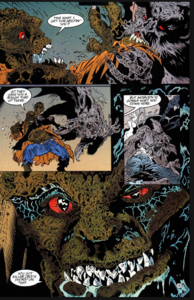 Man-Bat and Killer Croc 2