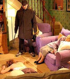 Richard attacks Emily and Maxine