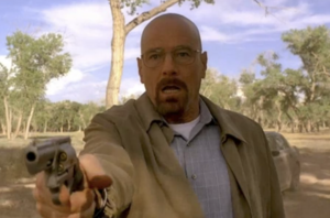 Walt after shooting Mike