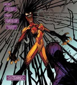 Andrea Benton (Earth-616 and Cletus Kasady (Earth-616) from Absolute Carnage Scream Vol 1 3 0002