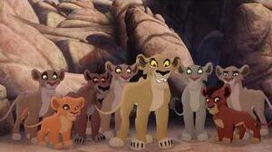 Lion Guard Lions of the Outlands Ending - Kion VS Zira & the Outsiders! HD Clip