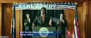 Mayor Earl Gundy