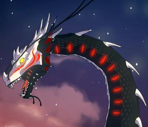 Sea dragon headshot