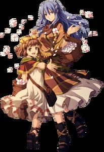 Tia and Maya
