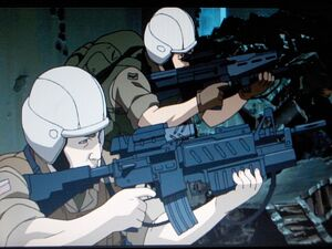 American Empire, Soldiers II (Ghost in the Shell, Stand Alone Complex)