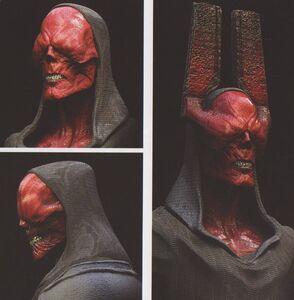 Avengers Infinity War Red Skull concept art 1