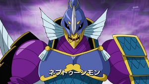 Bagra Army's Commander Neptunemon