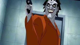 Batman Under the Red Hood - Joker Black Mask scene-0