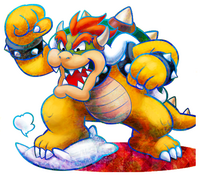 Bowser In Dream Team