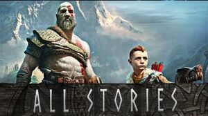 God of War - Every Story Kratos Tells Atreus Kratos Story-time