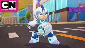 Mega Man Fully Charged Low Battery Cartoon Network