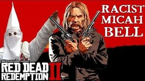 Red Dead Redemption 2 All of Micah's Racist Actions Compilation