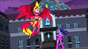 Sunset Shimmer's Wrath Defeat
