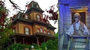 4K Phantom Manor Ride - Disneyland Paris version of Haunted Mansion Ride