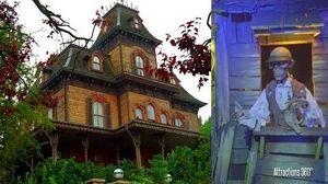 4K Phantom Manor Ride - Disneyland Paris version of Haunted Mansion Ride