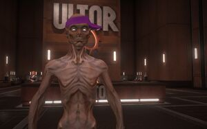 Dex in the Ultor Lobby