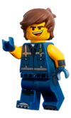 Rex dangervest lego movie 2