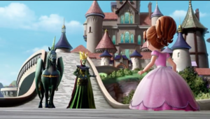 FR Vor appears before Sofia at the castle