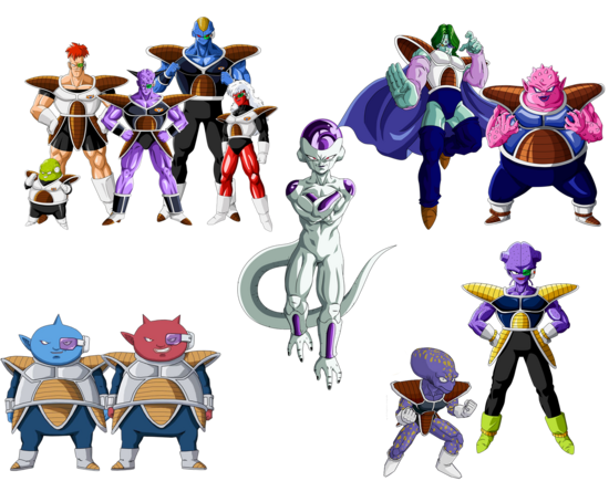 Frieza and his elites