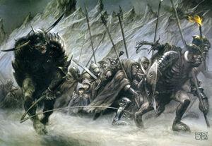 John Howe - In Mordor