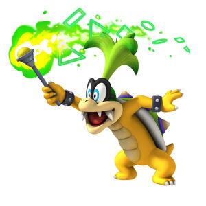 New Super Mario Bros Wii Iggy Koppa