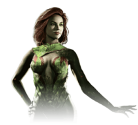 Poison ivy injustice 2 render