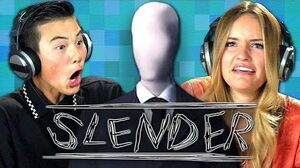 SLENDER (Teens React Gaming)