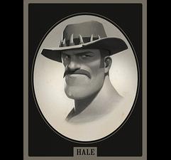 Saxton Hale Portrait