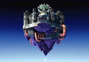 The Black Bowser Castle