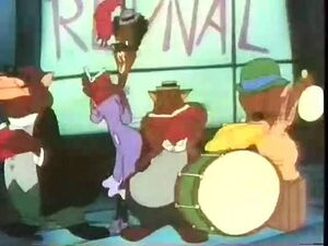 Tin Pan Alley Cats (1943)