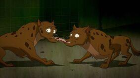 Bud and Lou the Hyenas Harley Quinn TV Series 0001