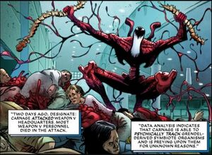 Cletus Kasady (Earth-616) from Absolute Carnage Weapon Plus Vol 1 1 0002