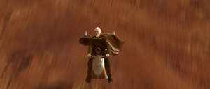 Dooku speeder bike