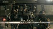 Metal Gear Skull Face 15