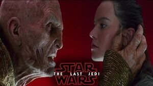 Star Wars The Last Jedi - Rey Meets Snoke