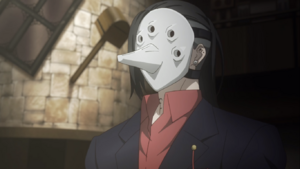 Uta's second mask anime
